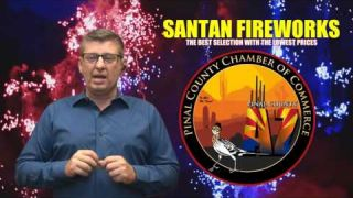 Firework Stands in San Tan Valley
